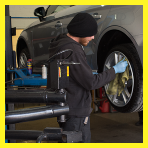 Tyre fitters in Wrexham