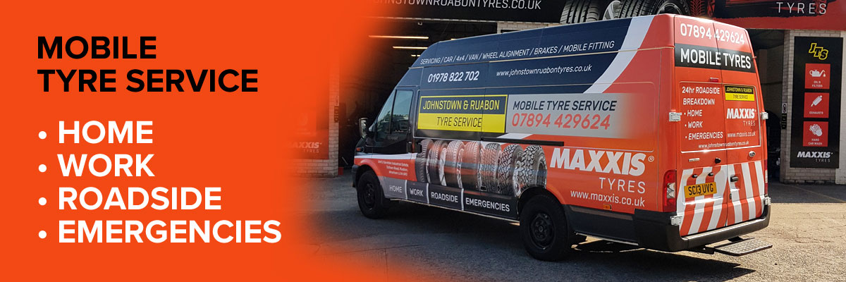 24hr Mobile Tyre Service - Home, Work, Roadside, Emergencies